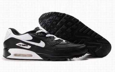 air max 90 noire et blanc de marque,chaussure nike air max